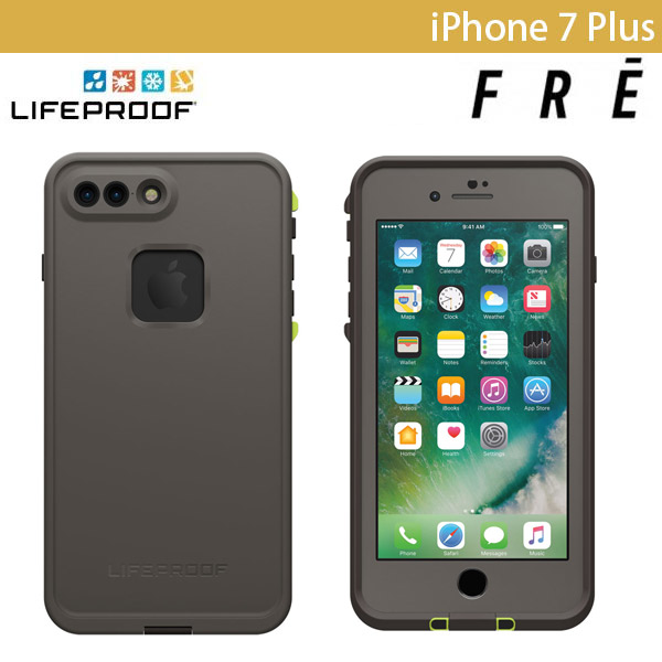 LifeProof iPhone 7 Plus fre Second Wind Grey グレー