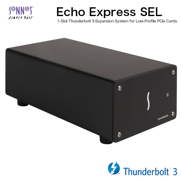 SONNET Echo Express SEL Thunderbolt 3-to-PCIe Expantion Chassis ( One low Profile slot )