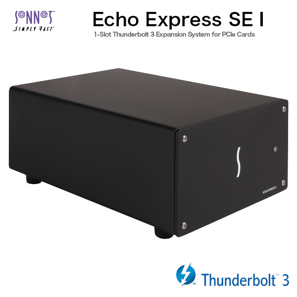 SONNET Echo Express SE I Thunderbolt 3-to-PCIe Expantion Chassis ( One  slot )