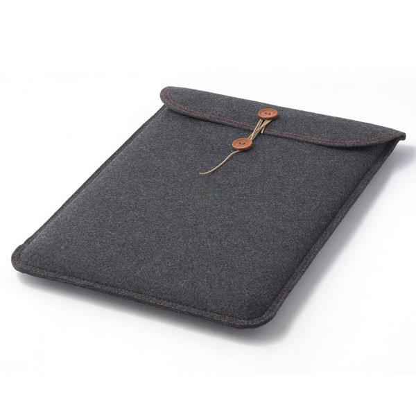 buzzhouse design MacBook Pro 13 (Late 2016 / 2017 / 2018 / 2019) ハンドメイドフェルトケース ブラック