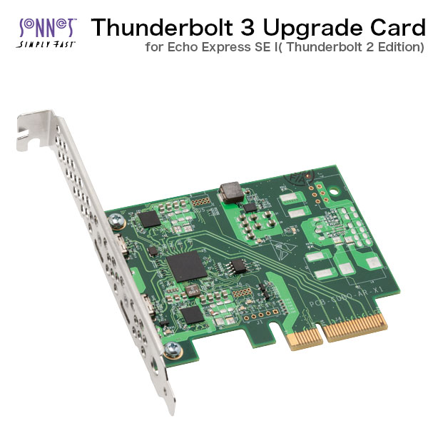 SONNET Thunderbolt 3 Upgrade Card for Echo Express SE I Thunderbolt 2 Edition
