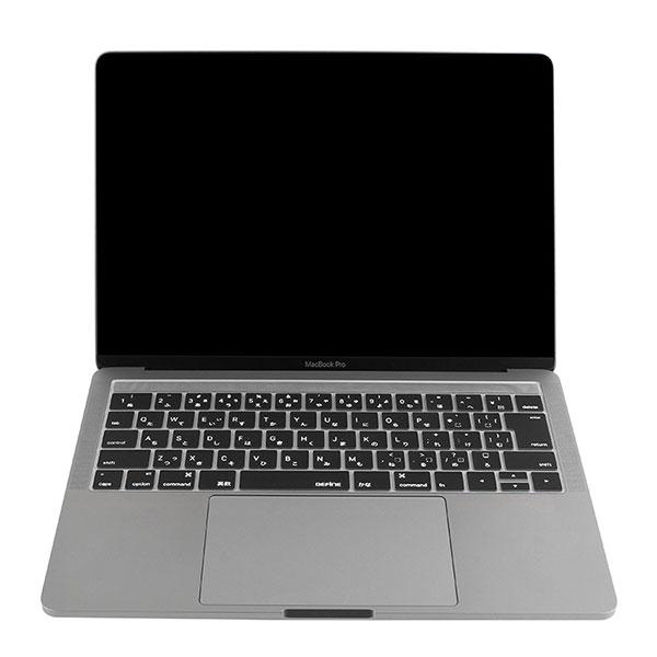 BEFINE キースキン 2016 MacBook Pro 13インチ & 15インチ Touch BarとTouch ID対応 キーボードカバー ブラック