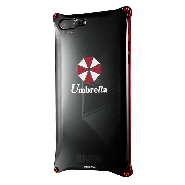 GILD design iPhone 8 Plus / 7 Plus Solid BIOHAZARD「Umbrella」
