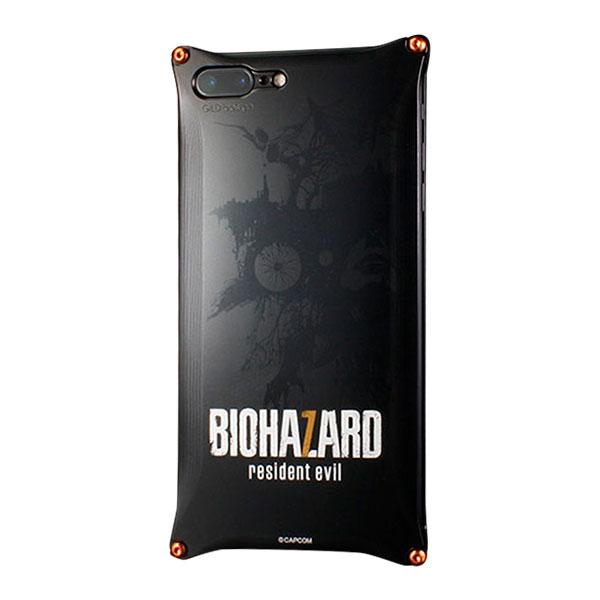 GILD design BIOHAZARD 「バイオハザード7」モデル ブラック Solid for iPhone 7 Plus