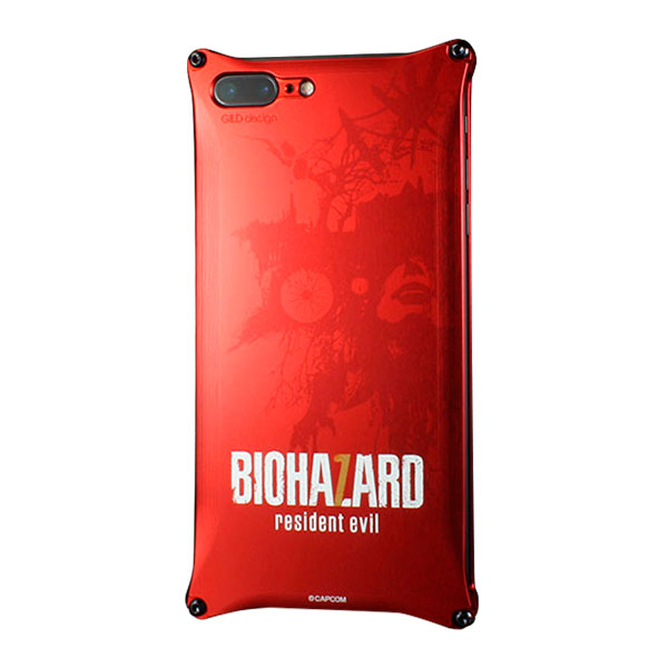 GILD design BIOHAZARD 「バイオハザード7」モデル レッド Solid for iPhone 7 Plus