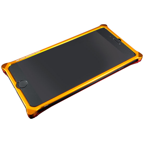 GILD design Solid Bumper for iPhone 7 Plus (EVANGELION Limited) エヴァンゲリオン2号機 ゴールド・レッド