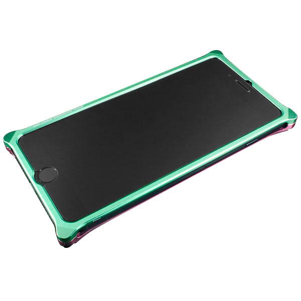 GILD design Solid Bumper for iPhone 7 Plus (EVANGELION Limited) MARI MODEL ライトグリーン・ピンク