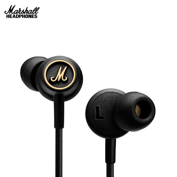 Marshall Headphones MODE EQ カナル型イヤフォン Black and Brass