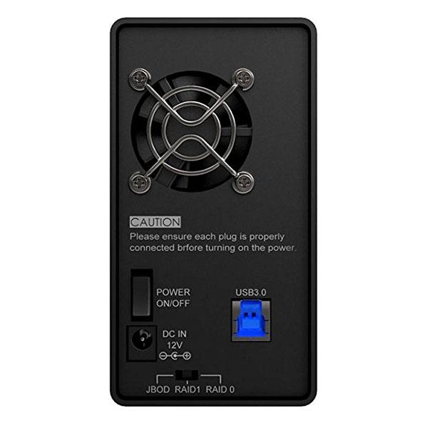 STARDOM SOHO TANK ST2-6G USB 3.0 ブラックカラーモデル