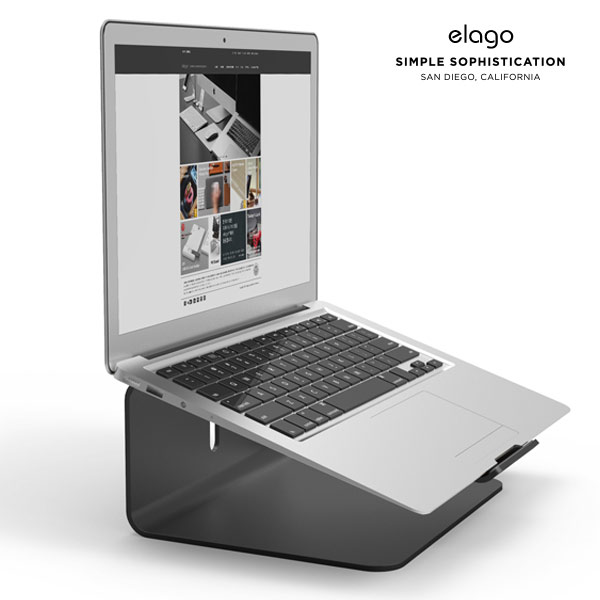 elago MacBook L2 STAND (Black)