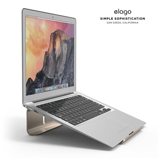 elago L3 STAND for NOTE PC (Champagne Gold)