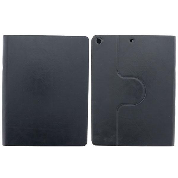 LEPLUS iPad 5th 縦横両対応 薄型PUレザーケース 「PRIME 360」 ブラック