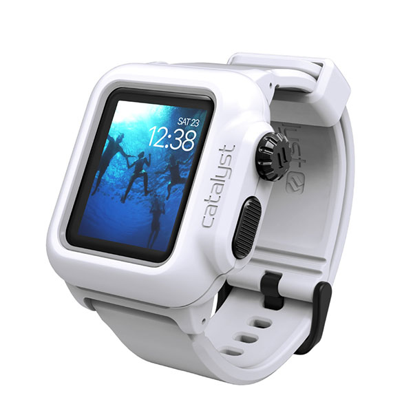 Catalyst Apple Watch 38mm Series 2 完全防水ケース ホワイト