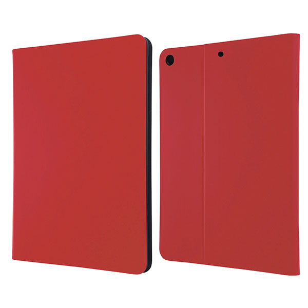 Ray Out iPad 5th レザーケース スタンド機能付き レッド