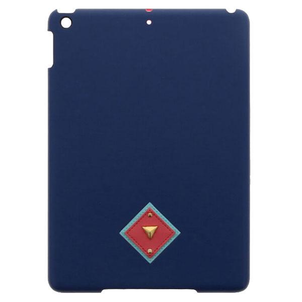 LEPLUS iPad 5th 【Lucy】オルテガパターンPUレザーケース/ネイビー
