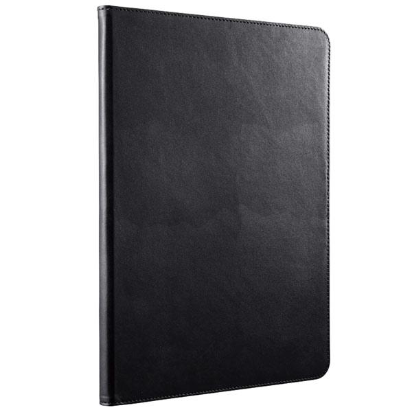 BUFFALO iPad 5th 専用 スタンダードレザーケース  ブラック