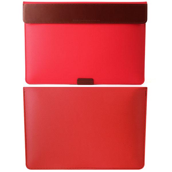 BEFINE MacBook Pro 15インチ(Touch Bar搭載モデル)専用 BEFiNE スタンドポーチ2 レッド