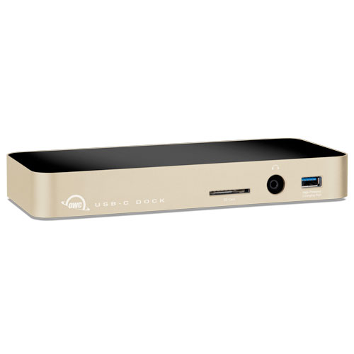 OWC USB-C Dock 10 Ports, including Mini DisplayPort Gold