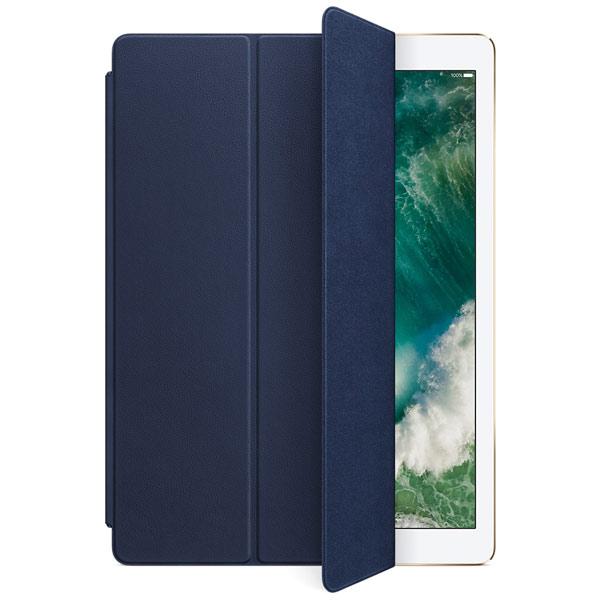 Apple 12.9インチ iPad Pro 1 / 2世代 レザー Smart Cover - ミッドナイトブルー