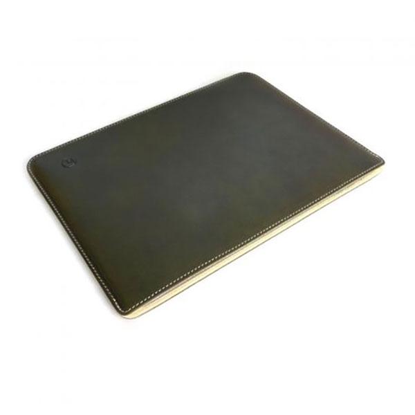 buzzhouse design iPad 7th / 10.5インチ iPad Air / Pro ハンドメイドレザーケース グリーン