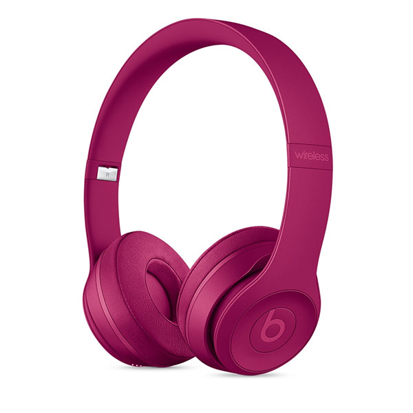 beats by dr.dre Solo3 Wirelessオンイヤーヘッドフォン - Neighborhood Collection - ブリックレッド