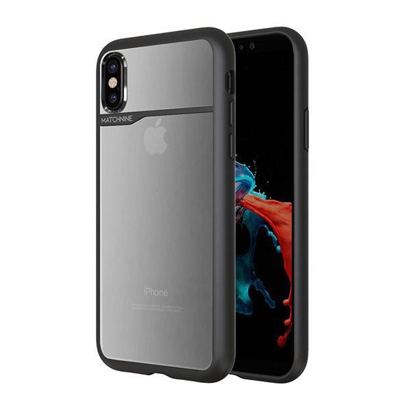 MATCHNINE iPhone XS / X BOIDO ブラック/ハーフミラー