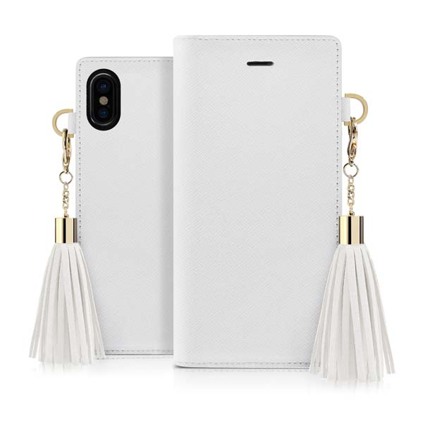 Dreamplus iPhone XS / X Tassel Jacket ホワイト