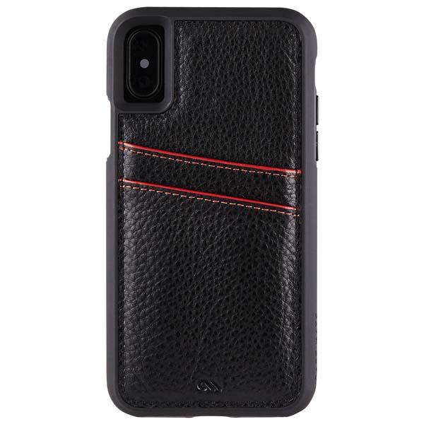 Case-mate iPhone XS / X Tough ID Case- Black