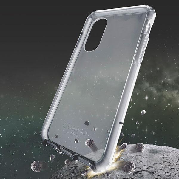 cellularline iPhone XS / X TETRA case 耐衝撃 ケース ホワイト