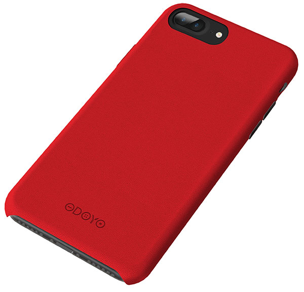 ODOYO iPhone 8 Plus / 7 Plus Snap Edge Burgundy Red