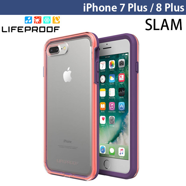 LifeProof iPhone 8 Plus / 7 Plus Slam 耐衝撃 ケース Free Flow