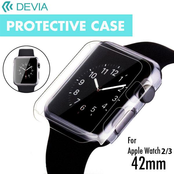 Devia Apple Watch 42mm Series 2 / 3 42mm クリアプロテクターケース バンパーカバー