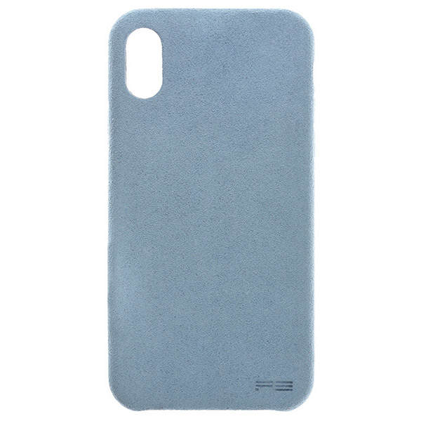 PowerSupport iPhone XS / X Ultrasuede Air jacket ウルトラスエード エアージャケット (Sky)