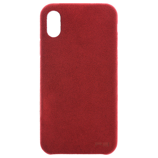 PowerSupport iPhone XS / X Ultrasuede Air jacket ウルトラスエード エアージャケット (Red)