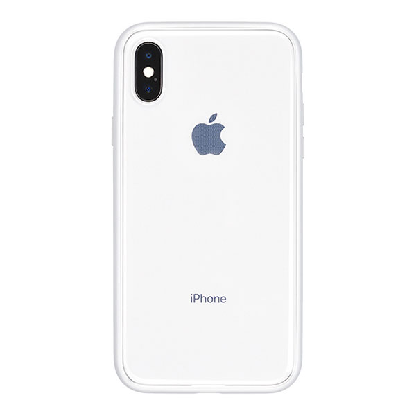 PowerSupport iPhone X Shock proof Air jacket (rubber silver)