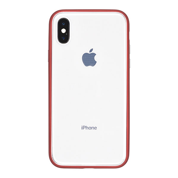 PowerSupport iPhone X Shock proof Air jacket (rubber red)