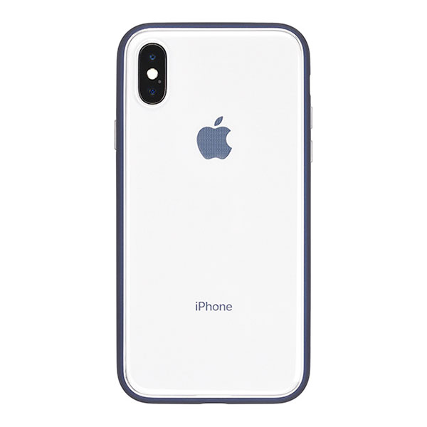 PowerSupport iPhone X Shock proof Air jacket (rubber navy)