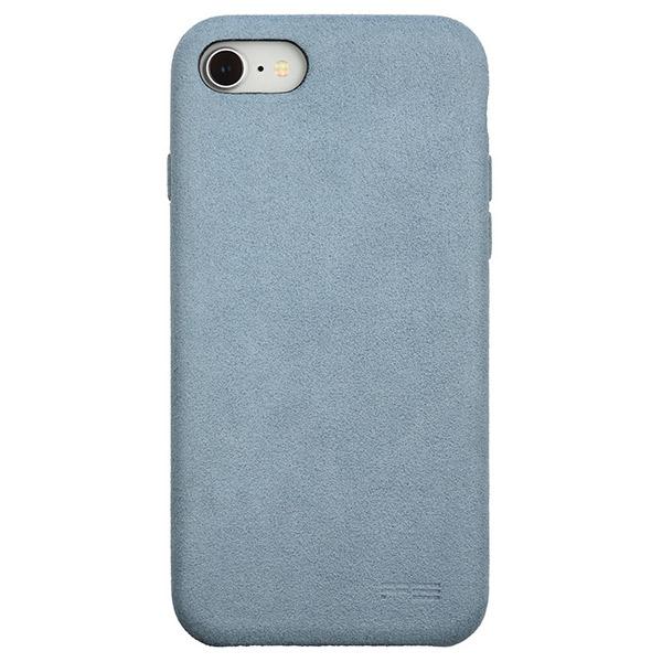 PowerSupport iPhone SE 第2世代 / 8 / 7 Ultrasuede Air jacket ウルトラスエード エアージャケット (Sky)