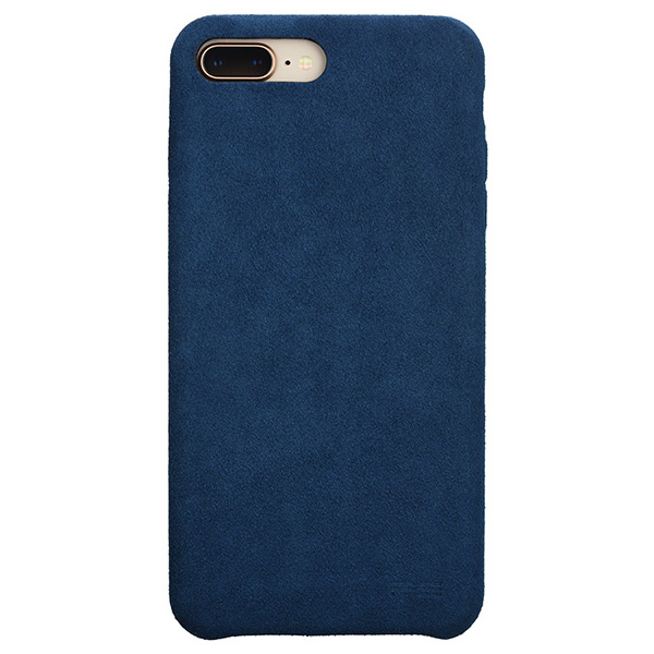 PowerSupport iPhone 8 Plus / 7 Plus Ultrasuede Air jacket ウルトラスエード エアージャケット (Blue)