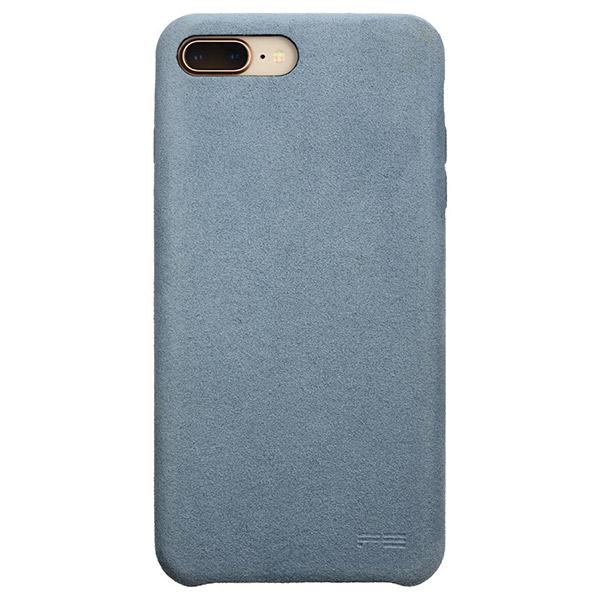 PowerSupport iPhone 8 Plus / 7 Plus Ultrasuede Air jacket ウルトラスエード エアージャケット (Sky)