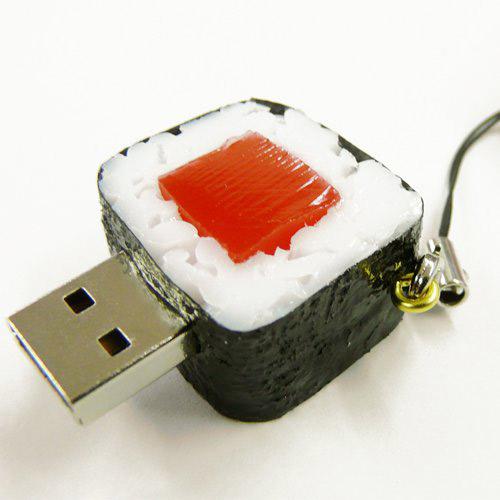 SushiDiskなの?すとらっぷ 鉄火巻き SNTK-02G (2GB)