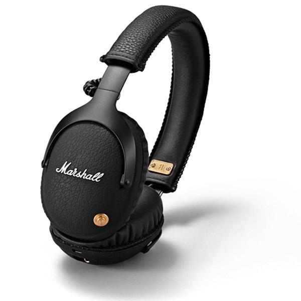 【国内正規品】 Marshall Headphones MONITOR Bluetooth ワイヤレスヘッドフォン Black