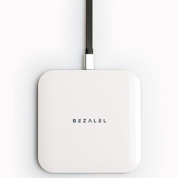 BEZALEL Qi対応 ワイヤレス充電器 Futura X Turbo 10W Wireless Charging Pad ホワイト