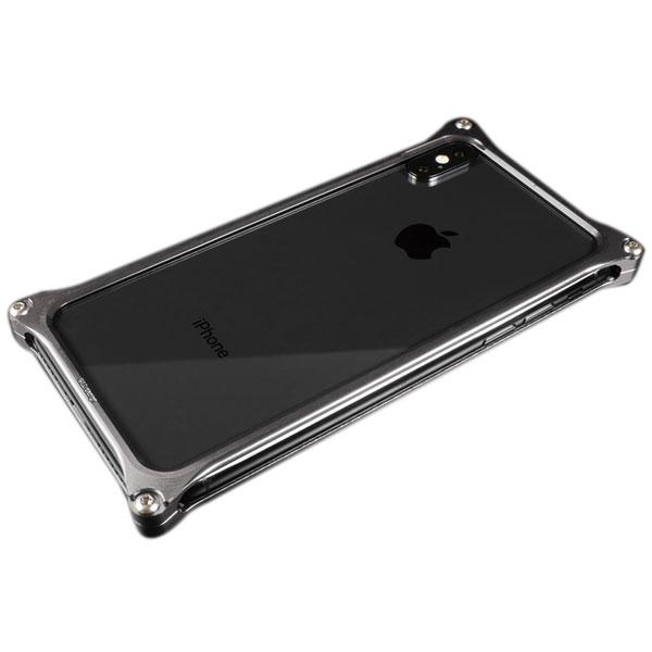 GILD design iPhone XS / X ソリッドバンパー グレー