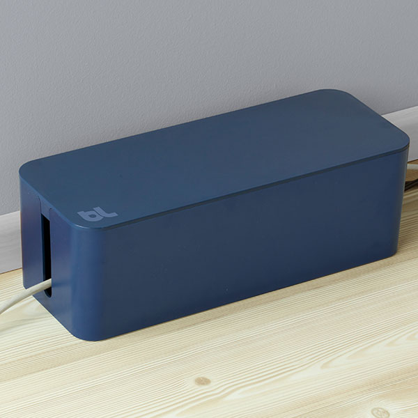Bluelounge ケーブルボックス 創立10周年モデル ムーンライトブルー