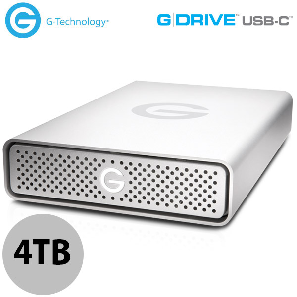 G-Technology 4TB G-DRIVE USB-C 外付けHDD