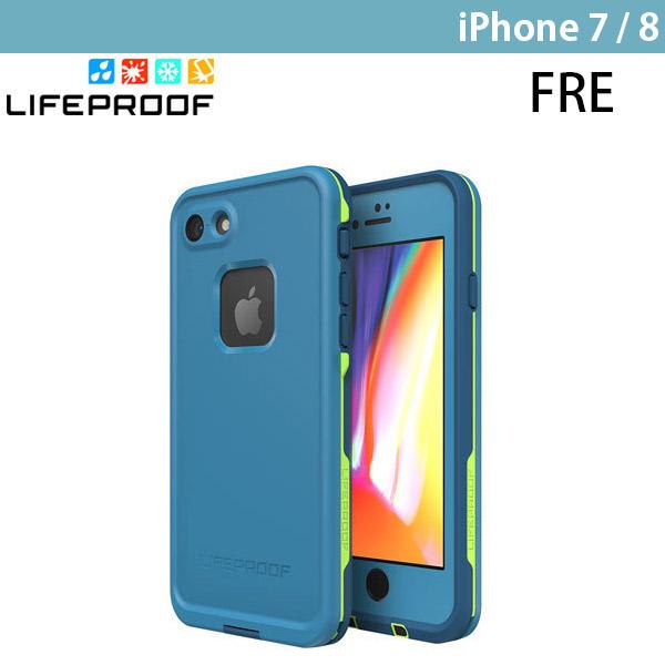 LifeProof iPhone 8 / 7 Fre 防水・防塵・防雪・耐衝撃 ケース Banzai Blue