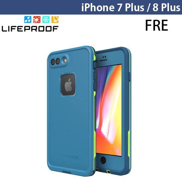 LifeProof iPhone 8 Plus / 7 Plus Fre 防水・防塵・防雪・耐衝撃 ケース Banzai Blue