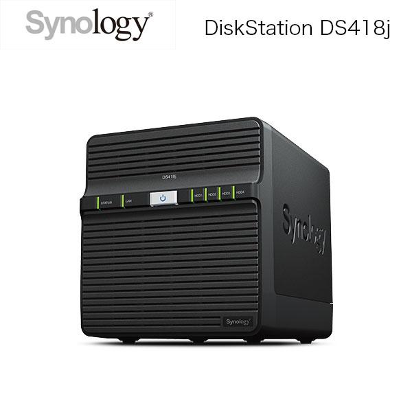 Synology DiskStation Jシリーズ DS418j 4ベイ