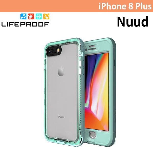 LifeProof iPhone 8 Plus Nuud 防水・防塵・防雪・耐衝撃 ケース Cool Mist